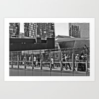 Vader Visits Vegas Art Print