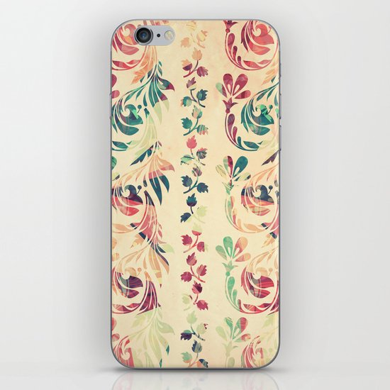 Another floral pattern iPhone & iPod Skin
