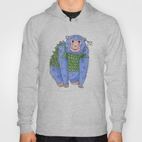 Peachtree The Chimp in Blue Hoody