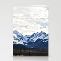 Beautiful Alaska Stationery Cards