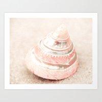 Pink Chiffon Art Print