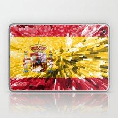 Spain Flag - Extrude Laptop & iPad Skin