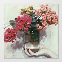 Florajar Canvas Print