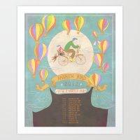 Andrew Bird 'Break It Yourself' commemorative poster Art Print