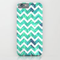 Arctic Ice Chevron iPhone 6 Slim Case
