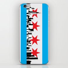 New Chicago Flag iPhone & iPod Skin