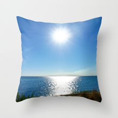 Solitaire Sky Throw Pillow
