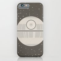 iPhone & iPod Case featuring Death Star DS-1 Orbital Battle Station by Jessica Buie
