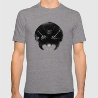Super Metroid Mens Fitted Tee Tri-Grey SMALL