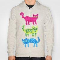 Cat Pattern Hoody