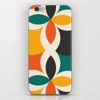 Midcentury Pattern 09 iPhone & iPod Skin