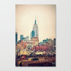 Vintage NYC - Repost for size update Canvas Print