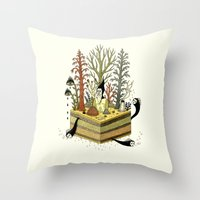 Slice Throw Pillow