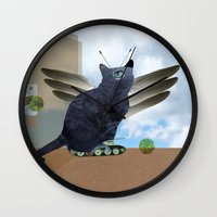 Renes Katze Wall Clock