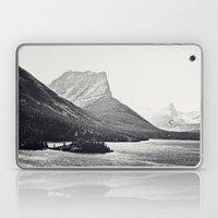 Glacier Mountain Lake Bl… Laptop & iPad Skin