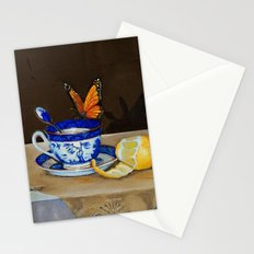 Teacup with Butterfly Stationery Cards