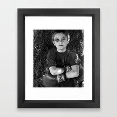 lil' fighter Framed Art Print