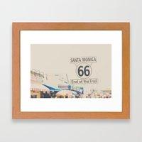 route 66 ... Framed Art Print