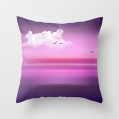 From dusk to dawn I Throw Pillow