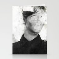 Stationery Cards featuring Faceless | Number 01 by FAMOUS WHEN DEAD