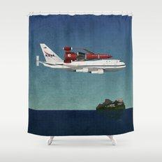 Thunderbird Carrier Shower Curtain