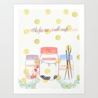 As for me... Art Print