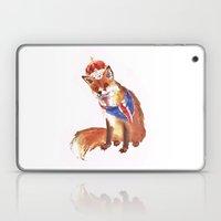 QUEEN's JUBILEE Fox - 8x10 inches Laptop & iPad Skin