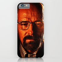 iPhone & iPod Case featuring Walter White by D77 The DigArtisT