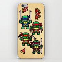 Teenage Mutant Ninja Tur… iPhone & iPod Skin