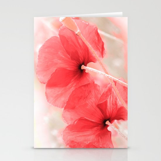 Poppies(airiness). Stationery Card