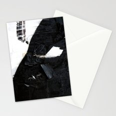 Black on white Stationery Cards