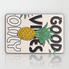 GOOD VIBES ONLY Laptop & iPad Skin