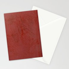 Tuscan Red Stucco Stationery Cards
