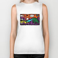 love is also a product Biker Tank