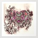 Gypsy Heart Art Print