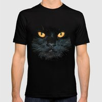 BLACK MAGIC Mens Fitted Tee Black SMALL