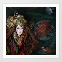 MOTHER EARTH STORY Art Print