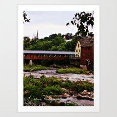 WaterWheel Art Print