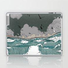 Stormy seas Laptop & iPad Skin
