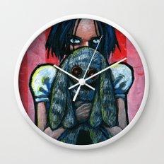 A little hug Wall Clock