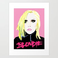 Debbie Harry  - Blondie … Art Print