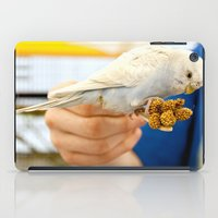 Blue Parakeet iPad Case