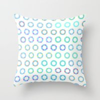 COLOR OF FLOAT Throw Pillow