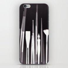 Paintbrush Photogram iPhone & iPod Skin