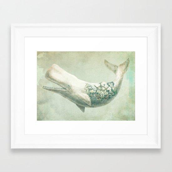 Far and Wide Framed Art Print