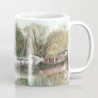 Rosa on the Grand Union Canal Mug