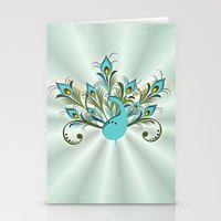 Just A Peacock Stationery Cards