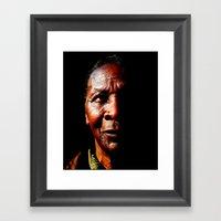 O1 Framed Art Print