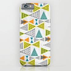 Geometric Mid Century Modern  Triangles iPhone 6 Slim Case