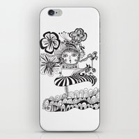 Chill Lady iPhone & iPod Skin